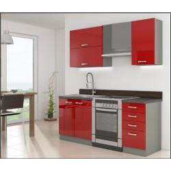 cocinas compleat  GREY 240 cm